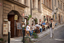 Narrow streets of the Little Quarter. Prague, Czech Republic. - Photo #30034