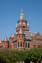 Old Red, former Dallas County Courthouse. - Photo #25134
