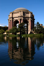 Palace of Fine Arts. San Francisco, California, USA. - Photo #3434