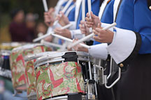 Drummers. San Jose Holiday Parade. San Jose, California, USA. - Photo #5135