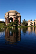 Palace of Fine Arts. San Francisco, California, USA. - Photo #3435