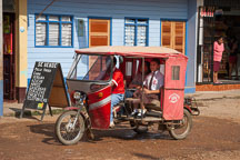 Taxi service. Puerto Maldonado, Peru. - Photo #9035