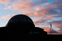 Adler Planetarium at dawn. Chicago, Illinois, USA. - Photo #10636