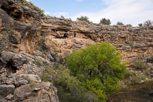 Cliff homes. Montezuma Well, Arizona. - Photo #17736