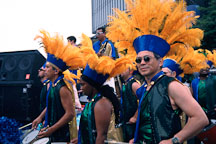 Drummers at Carnaval's grand parade. San Francisco. - Photo #1136