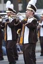 Marching band. San Jose Holiday Parade. San Jose, California, USA. - Photo #5137