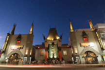 Grauman's Chinese Theatre (aka Mann's Chinese Theatre). Hollywood, California, USA. - Photo #8437