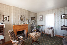 Living room in the Old Point Loma Lighthouse. San Diego, California. - Photo #26037
