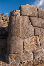 Stone wall. Sacsayhuaman. Peru. - Photo #9537