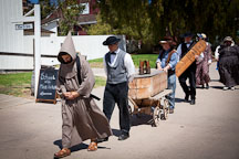 Funeral procession. Heritage Park, San Diego. - Photo #26338