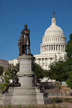 James A Garfield Monument. Washington, D.C. - Photo #29238