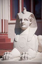 Sphinx in the Rosicrucian Park. San Jose, California. - Photo #21938