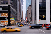 Taxis in New York City, New York, USA. - Photo #13038