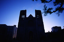 Grace cathedral. San Francisco, California, USA. - Photo #939