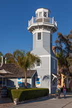 Lighthouse at Seaport Village. San Diego, California. - Photo #26439