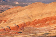 Painted Hills in the vibrant afternoon light. John Day Fossil Beds, Oregon. - Photo #27639