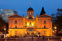 Pioneer Courthouse. Portland, Oregon. - Photo #28239