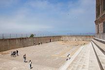 Recreation yard for Alcatraz penitentiary. - Photo #22139