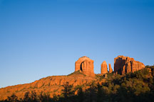 Cathedral Rock in Red Rock State Park, Arizona. - Photo #17639