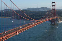 Golden Gate Bridge, San Francisco, California. - Photo #2759