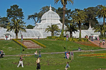 Conservatory of Flowers. Golden Gate Park, San Francisco, California, USA. - Photo #2716