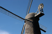 Dutch Windmill. Golden Gate Park, San Francisco, California, USA. - Photo #2688
