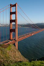 Golden Gate Bridge, San Francisco, California. - Photo #2757