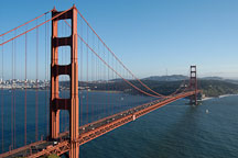 Golden Gate Bridge, San Francisco, California. - Photo #2758
