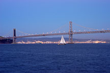 Oakland Bay Bridge. San Francisco, California. - Photo #2044