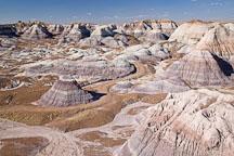 Blue Mesa badlands. Petrified Forest NP, Arizona. - Photo #18004