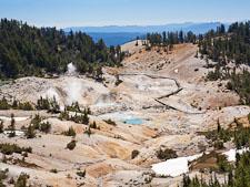 Bumpass Hell, Lassen Volcanic National Park. - Photo #27104