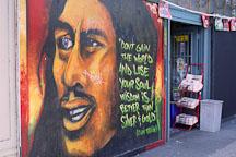 Mural and store. Haight Ashbury, San Francisco, California, USA. - Photo #140