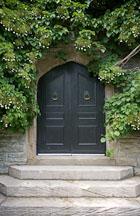 Door and steps. Casa Loma, Toronto. - Photo #19940