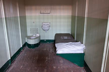 Isolation cell in D-block at Alcatraz. - Photo #22140