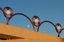 Walkway leading to Grady Gammage Memorial Auditorium. Tempe, Arizona. - Photo #5240