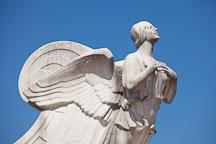 Winged angel on the Columbus Fountain. Washington, D.C. - Photo #29140