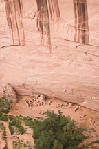 Antelope House viewed from the South Rim overlook. Canyon de Chelly NM, Arizona. - Photo #18341