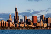 Chicago skyline. Chicago, Illinois, USA - Photo #10641