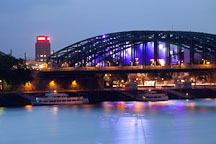 Hohenzollern Bridge. Cologne, Germany - Photo #30741