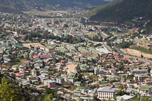 Thimphu is a mix of apartment blocks, family homes and businesses. Thimphu, Bhutan. - Photo #23041