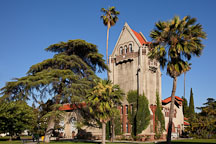 Tower Hall is a historic landmark on the San Jose State University campus. - Photo #25741