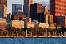 Chicago Harbor. Chicago, Illinois, USA. - Photo #10642