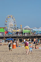 Santa Monica beach, California, USA. - Photo #7042