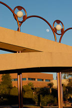 Grady Gammage Memorial Auditorium (Arizona State University) designed by Frank Lloyd Wright. Tempe, Arizona. - Photo #5242