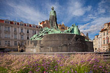 Jan Hus Memorial. Prague, Czech Republic. - Photo #29442