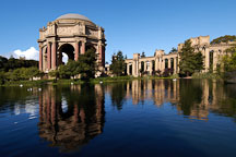 Palace of Fine Arts. San Francisco, California, USA. - Photo #3442