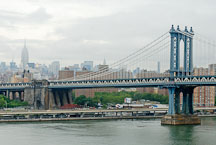 Manhattan Bridge. New York City, New York, USA. - Photo #13243