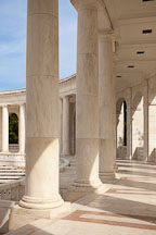 Columns at the Memorial Amphitheater. Arlington National Cemetery, Virginia. - Photo #29043