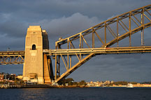 Sydney Harbour bridge. Sydney, New South Wales, Australia. - Photo #1443