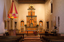 Chapel at Mission San Diego de Alcala. - Photo #26244